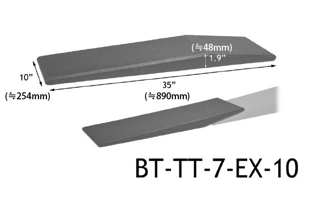 raceramps レースランプ bt tt 7 ex 10 extender ローダースロープ